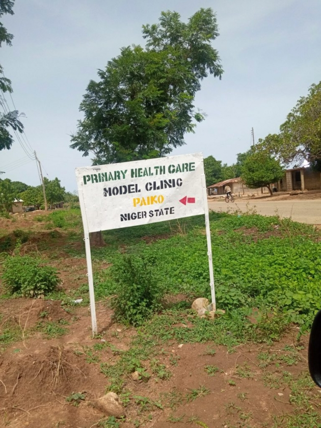 TCI visit to Model Clinic, Paiko Niger State